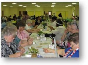 Caroline Cafe Participants enjoying an event.